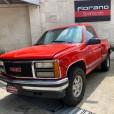 GMC Sierra 1989 roja 1