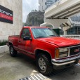 GMC Sierra 1989 roja 3