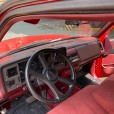 GMC Sierra 1989 roja 8